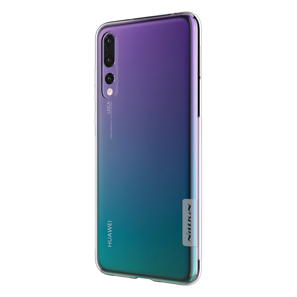 buy online 64632 31798 Nillkin Nature TPU Case Gel Ultra Slim Cover for Huawei P20 Pro transparent