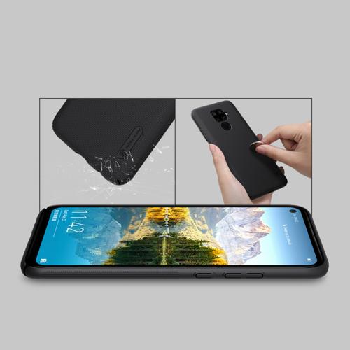 Nillkin Super Frosted Shield Case + kickstand for Huawei Mate 30 Lite / Huawei Nova 5i Pro black