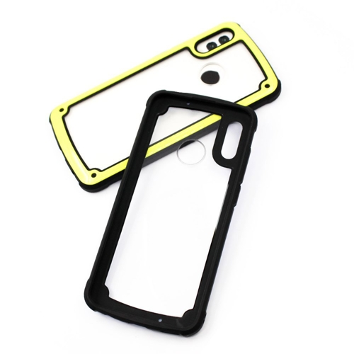 Solid Frame PC Case with TPU Bumper for Samsung Galaxy S9 Plus G965 black