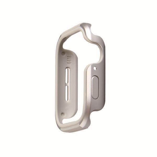 UNIQ etui Valencia Apple Watch Series 5/ 4 40MM srebrny/titanium silver