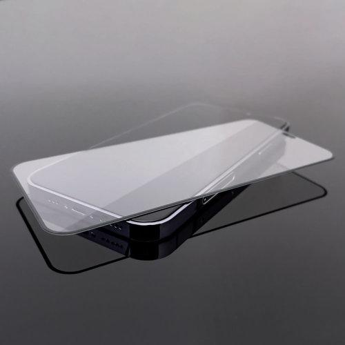 Wozinsky Tempered Glass Full Glue Super Robust Panzerglas Vollbild Hartglas mit Rahmen Case Friendly für Samsung Galaxy S10e schwarz