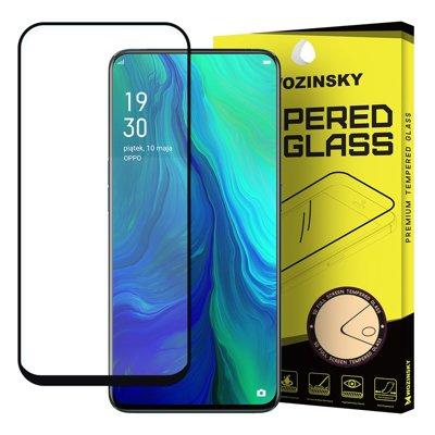 Wozinsky super wytrzymałe szkło hartowane Full Glue na cały ekran z ramką Case Friendly Oppo Reno 6.6'' czarny